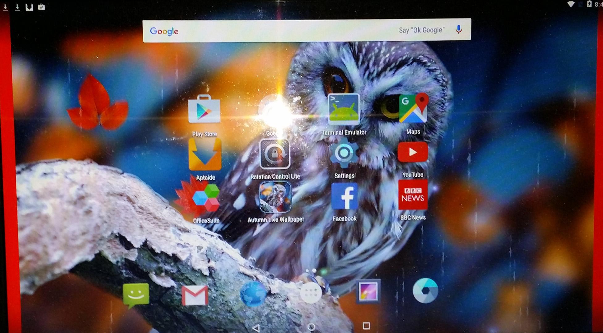 screenshot 1 andex desktop with autumn live wallpaper