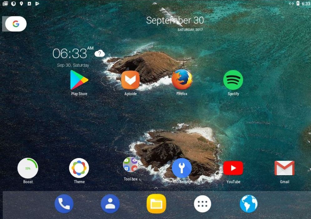download android nougat iso for pc