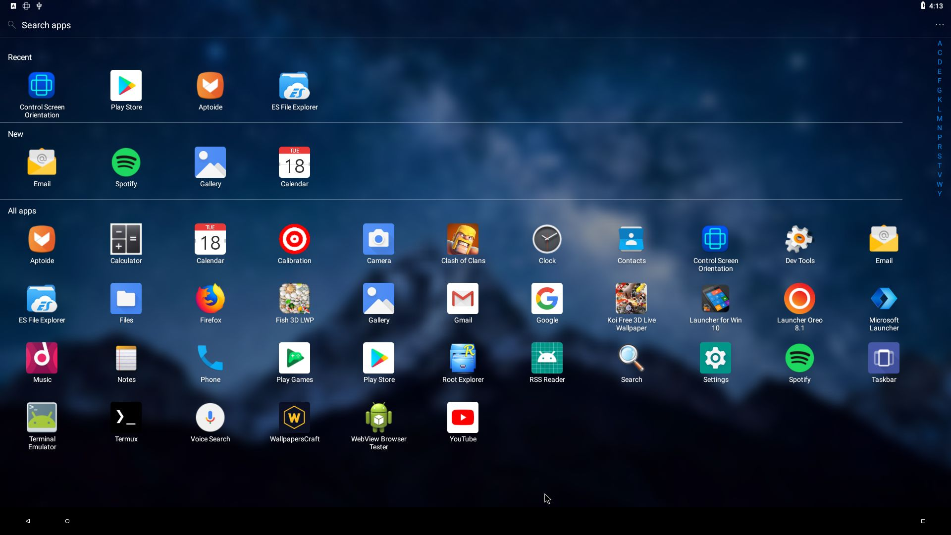 AndEX Oreo 8.1 (Android-x86_64) – Build 180918 – with ...