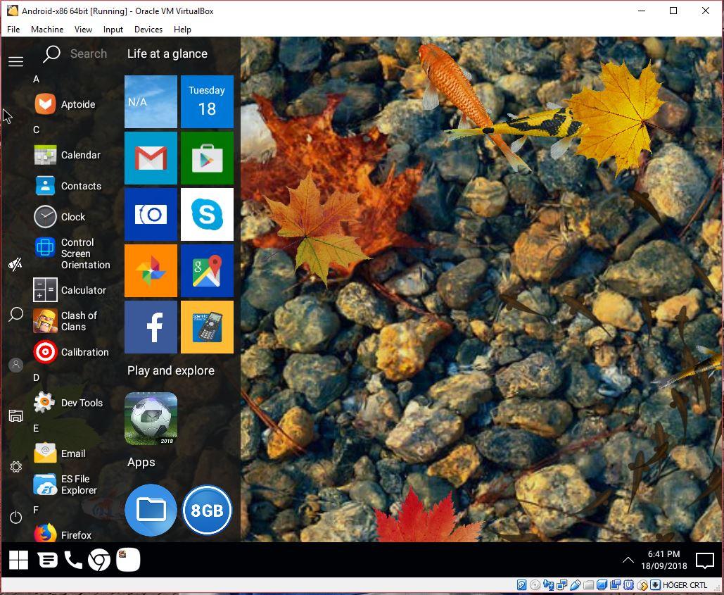 Android Oreo 8 1 – AndEX|Android-x86 Custom