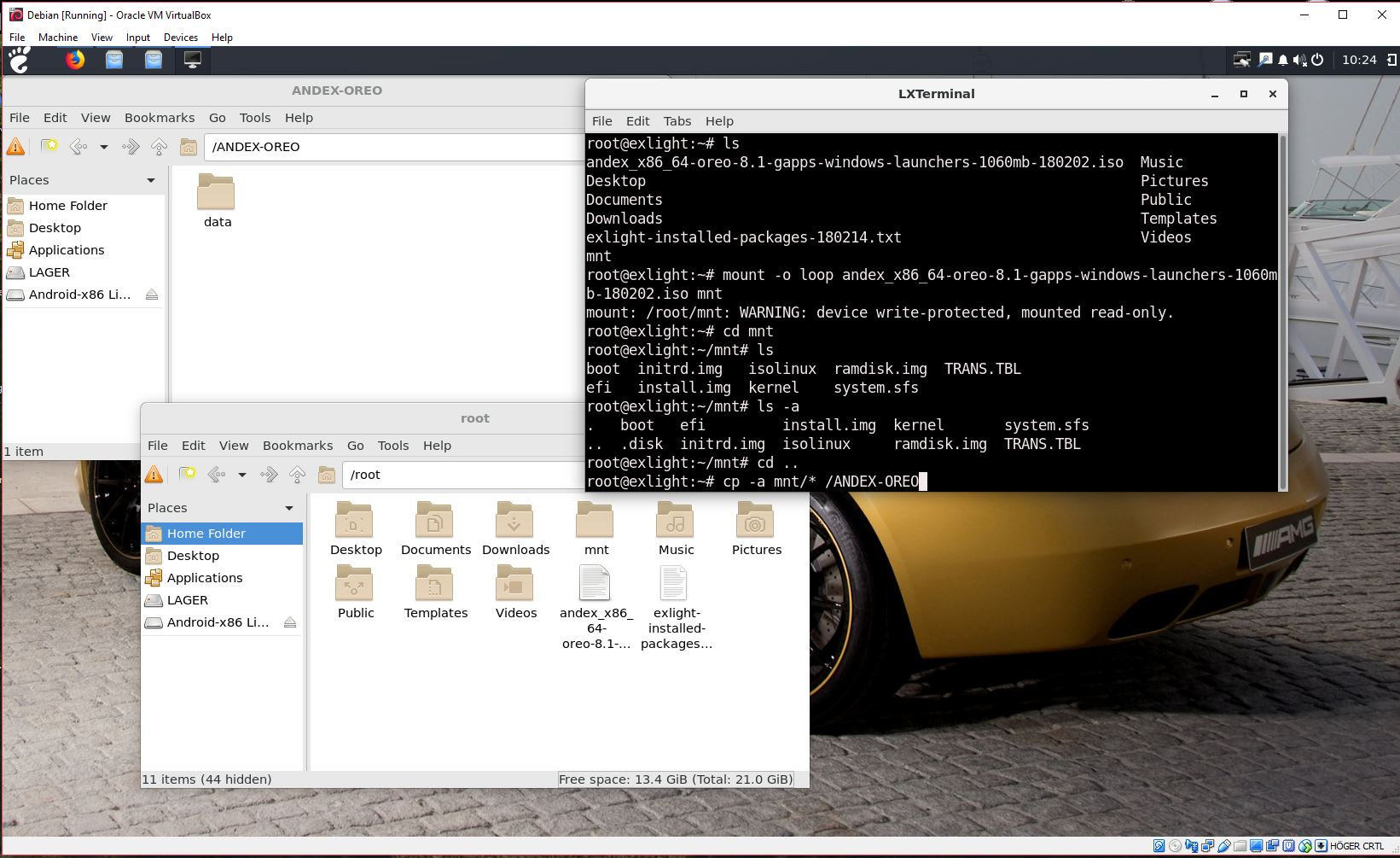 Android-x86 – AndEX|Android-x86 Custom