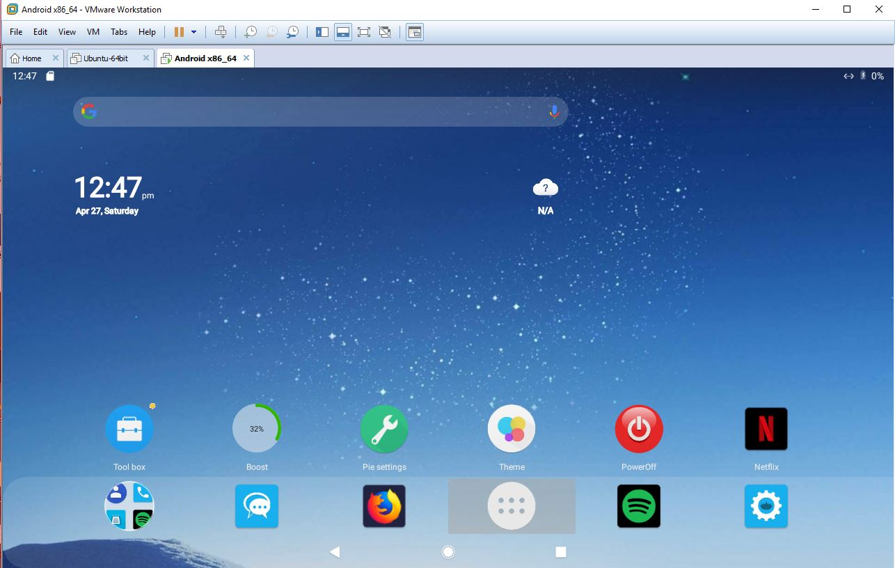 Android Pie 9 0 – AndEX|Android-x86 Custom