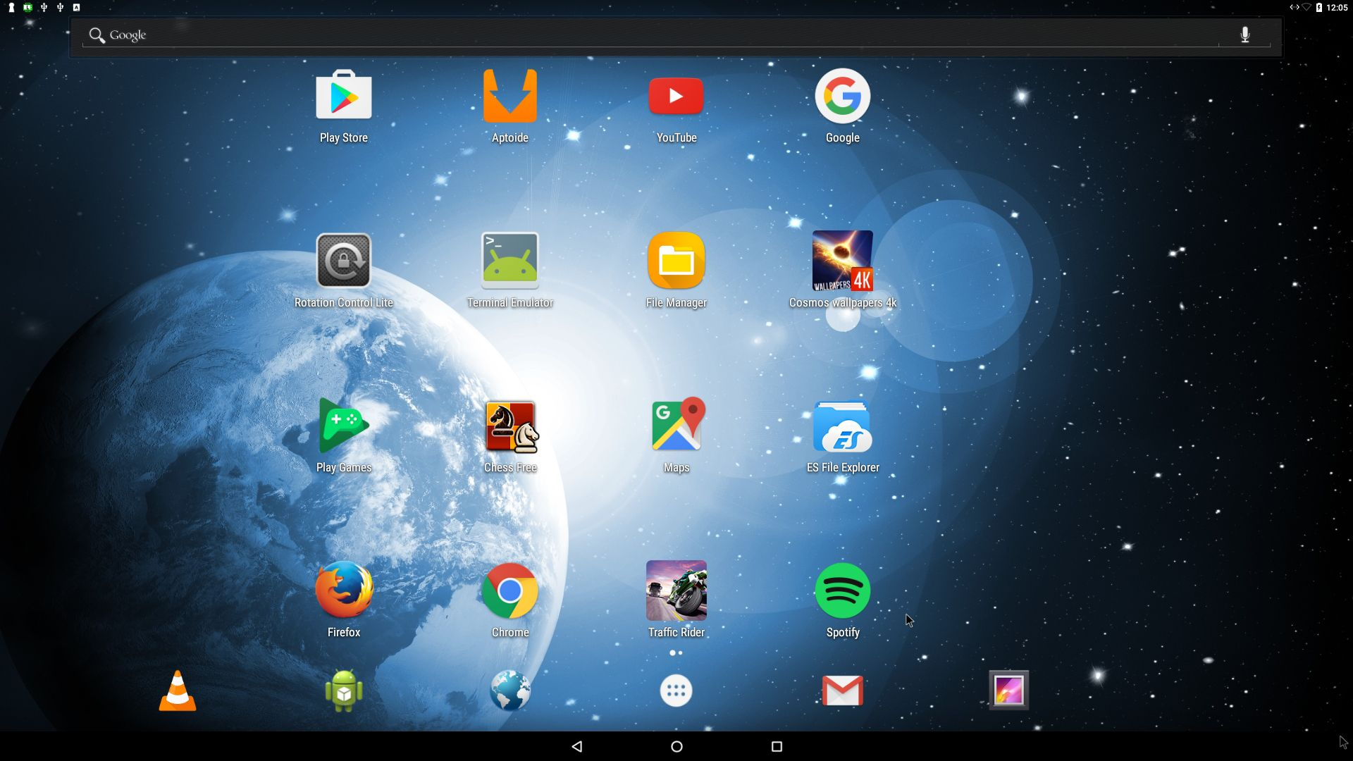 Android-x86_64 Nougat 7 0 with GAPPS and kernel 4 4 19-exton-android